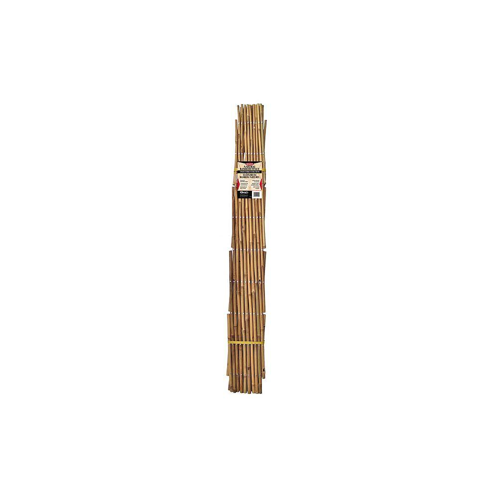 Quest Plastics 6 ft. Bamboo Fence