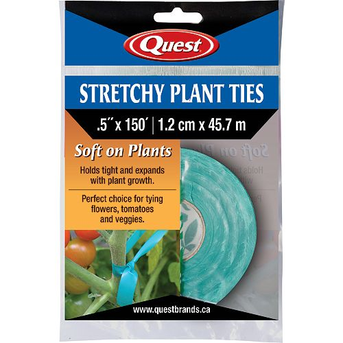 Attaches élastiques pour plantes