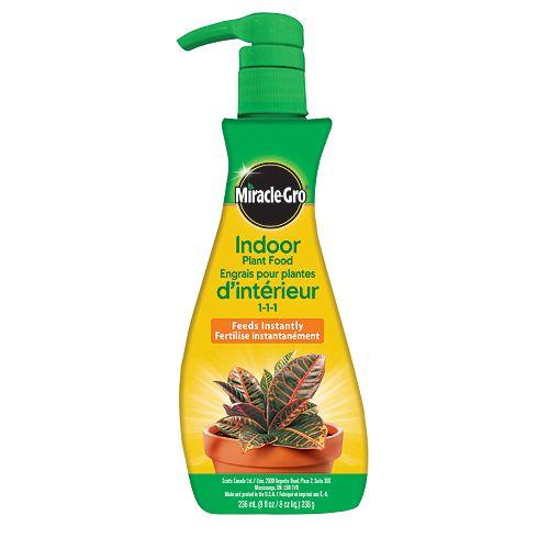 Engrais pour plantes d'intérieur Mousse 236 ml