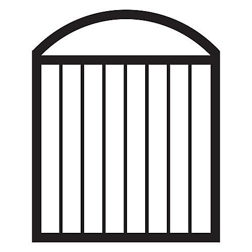 Porte de terrasse voûtée