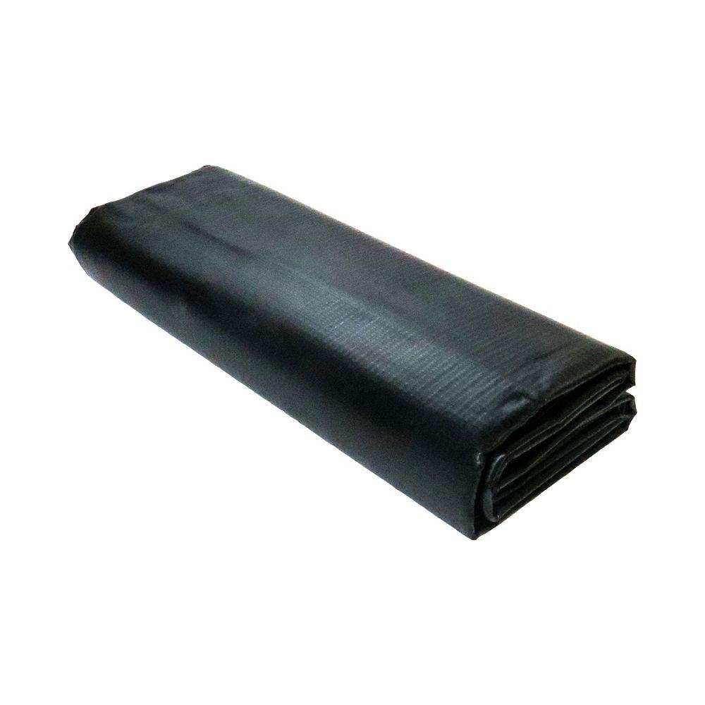 Angelo Décor 6 ft. x 8 ft. Reinforced PVC Pond Liner in Black