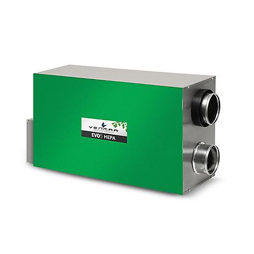 EVO5-700 - Echangeur d'air de récupération de chaleur avec filtration HEPA