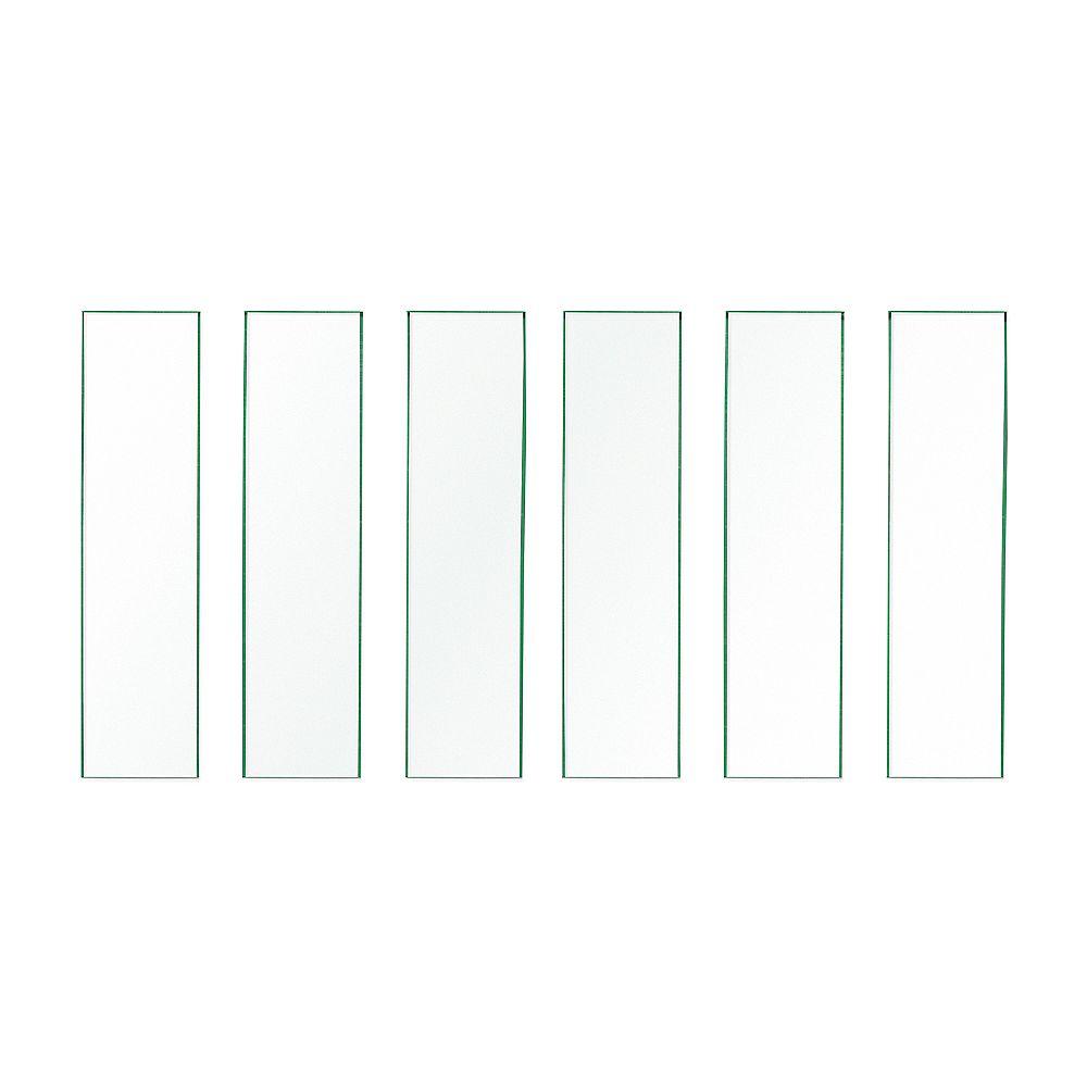 Veranda Panneaux de verre LakeView 36 pouces