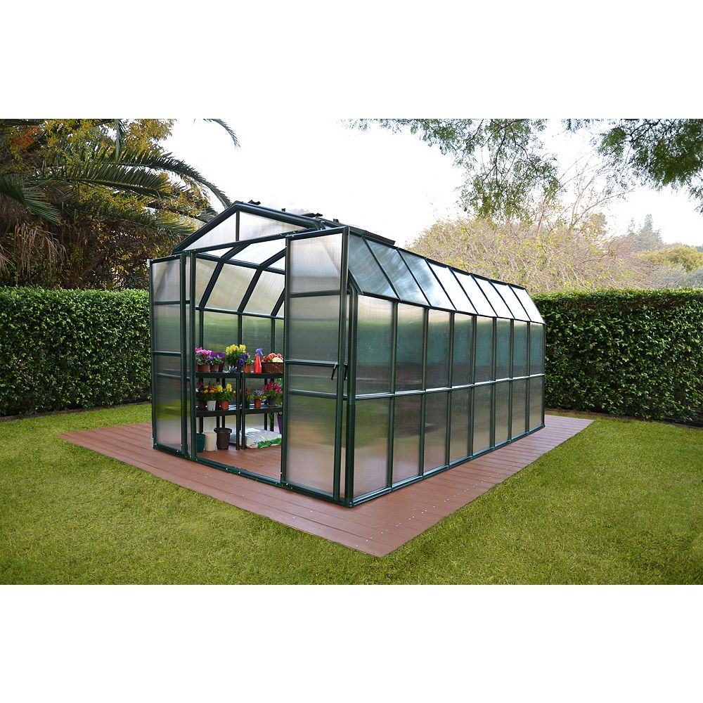 RION 8 Feet 6 Inches x 16 Feet 8 Inches Grand Gardener Greenhouse