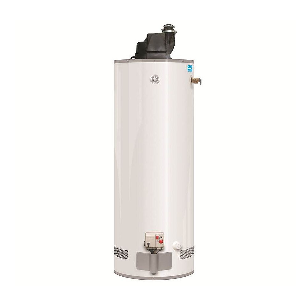 GE 50 Gal Natural Gas Power Vent Water Heater