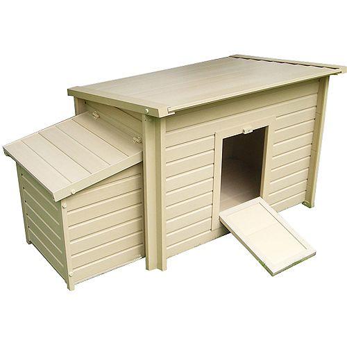 EcoChoice Fontana 6-Hen Chicken Barn