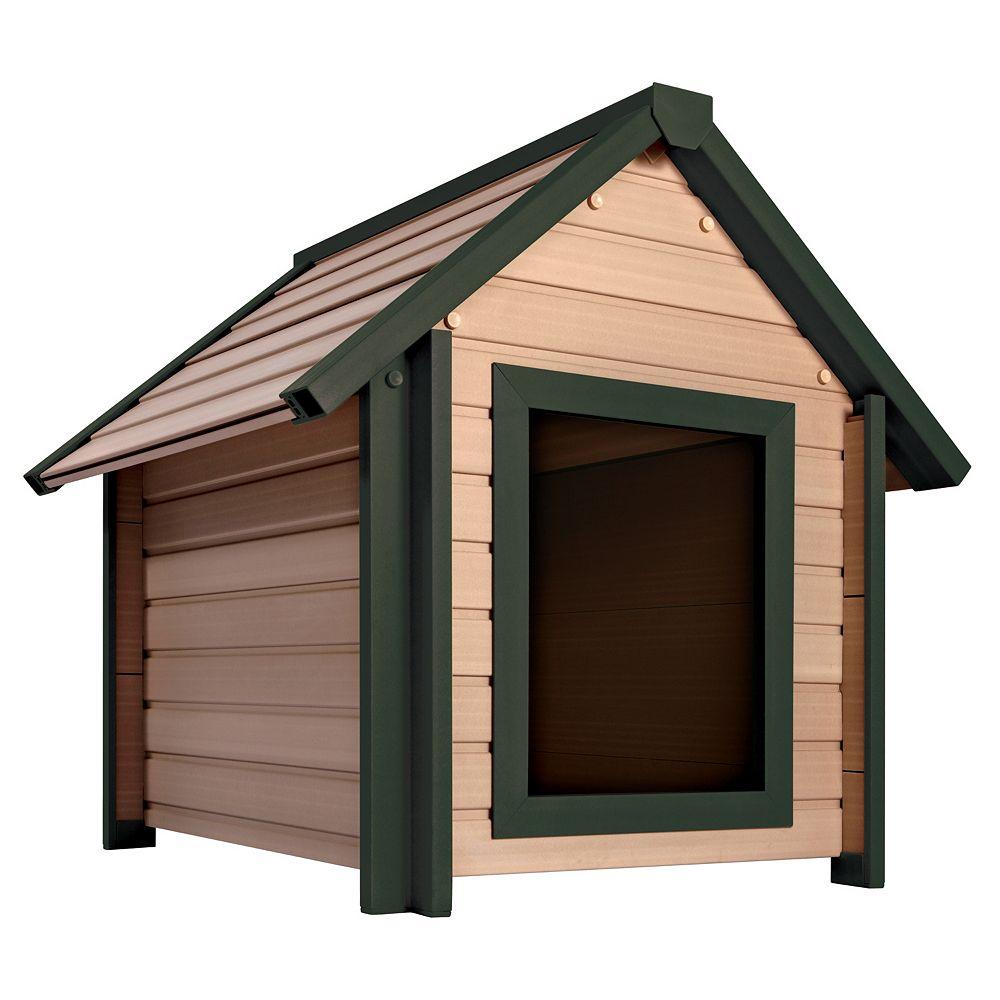 NewAgePet EcoChoice Bunkhouse Dog House, Medium