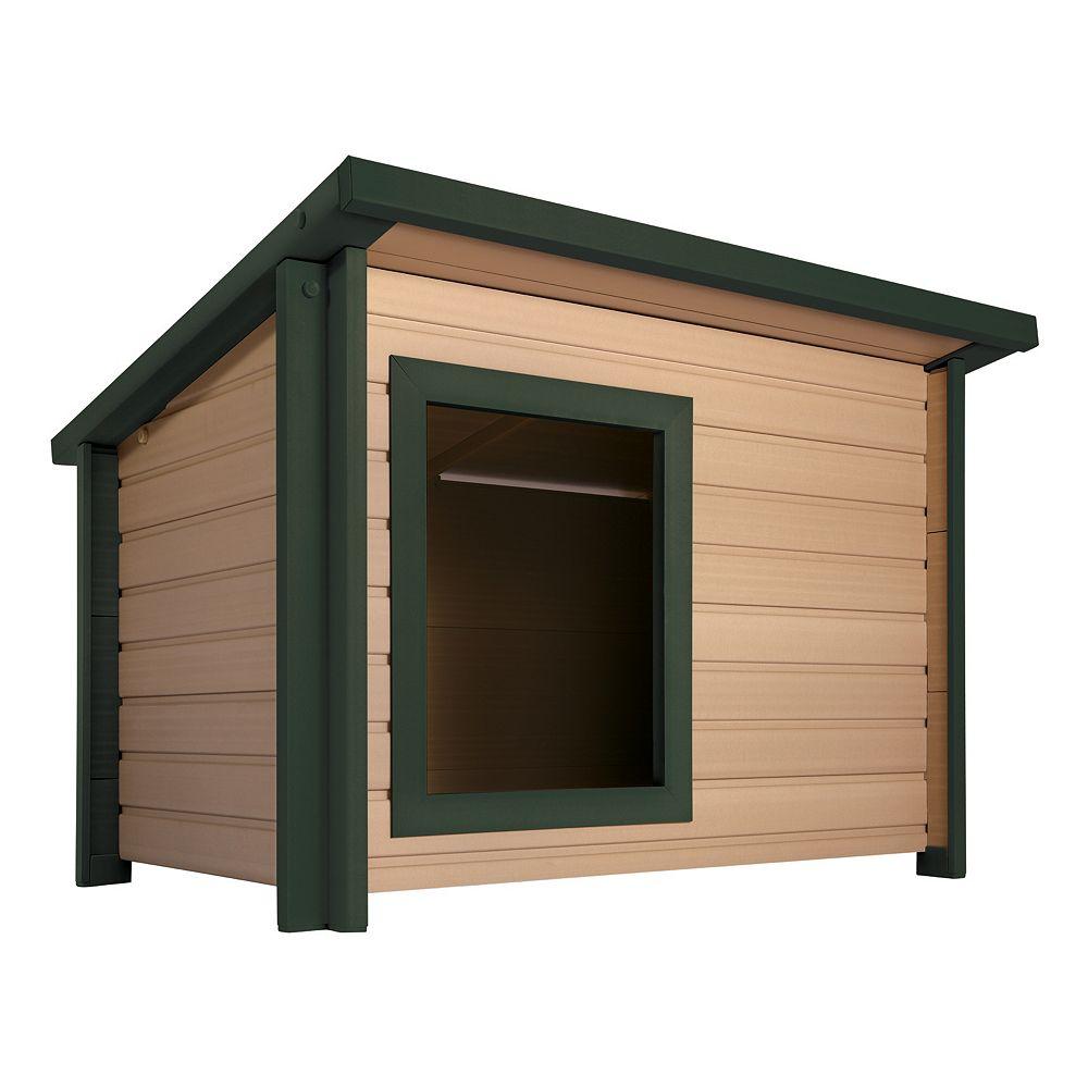 NewAgePet EcoChoice Rustic Lodge XLarge Dog House