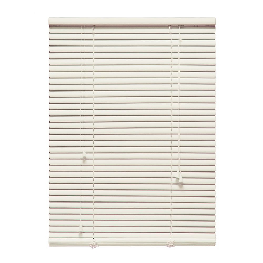 "Perfect Home Essentials 54 in. x 48 in. Alabaster 1"" Aluminum Blind"