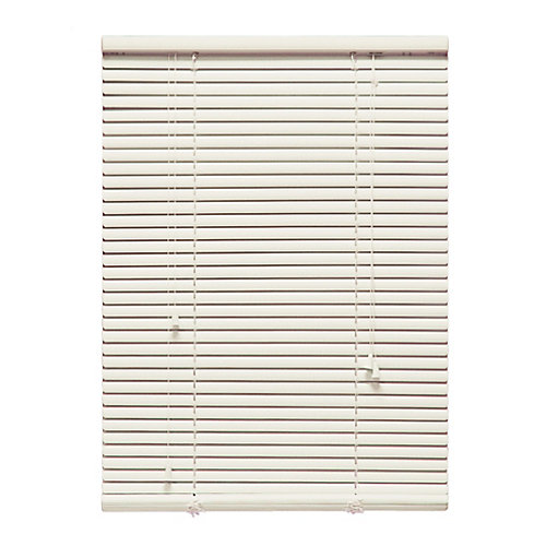 "72 in. x 72 in. Alabaster 1"" Aluminum Blind"