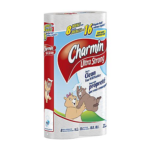 Charmin Extra Resistant 8 Rouleaux Doubles, KDF