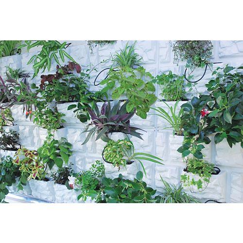 PlantScape - Jardin vertical - Fini pierre