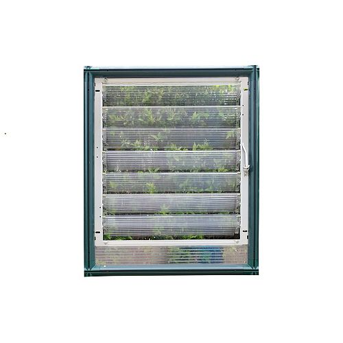 Side Louver Window for Greenhouses