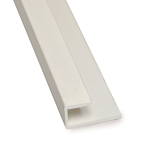 End Cap Pvc Gray Moulding 8 Feet