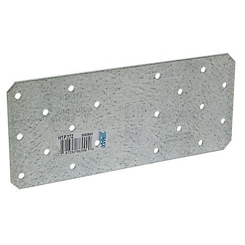 HTP 3 inch x 7 inch ZMAX Galvanized Heavy Tie Plate