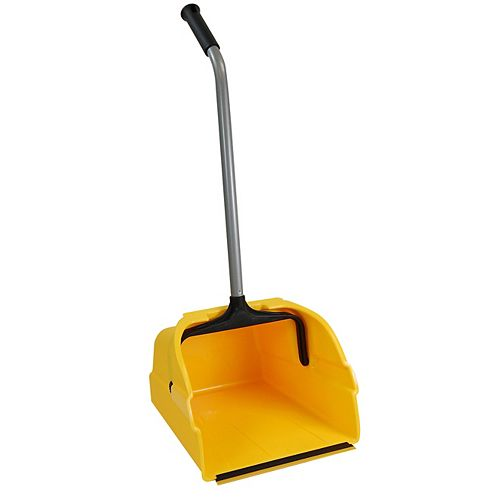 Quickie Jumbo Debris Dust Pan with Handle