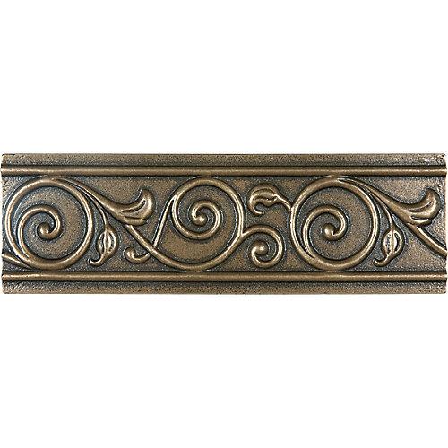 Bordure en bronze coulé Corbel de 2po ×6po