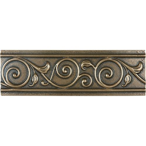 Bordure en bronze coulé Corbel de 2 po × 6 po
