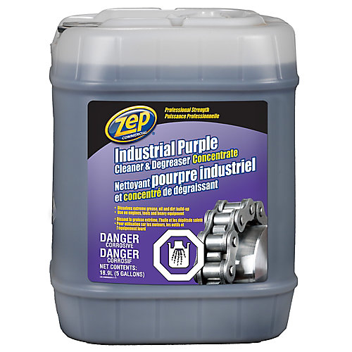 Industrial Purple Cleaner and Degreaser - 18.9 L
