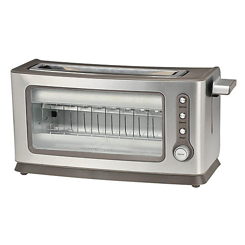 Stainless Steel Glass Toaster