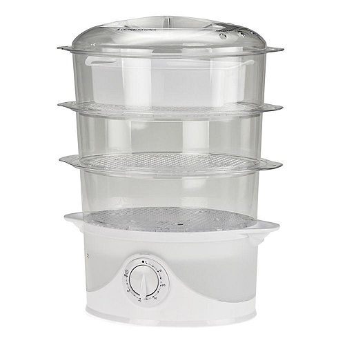 9L 3-Tier Food Steamer