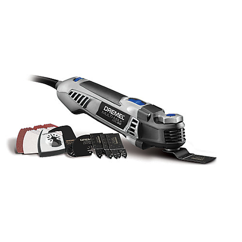 Multi-Max MM50 Oscillating Tool Kit with 15 Accessories (Corded)