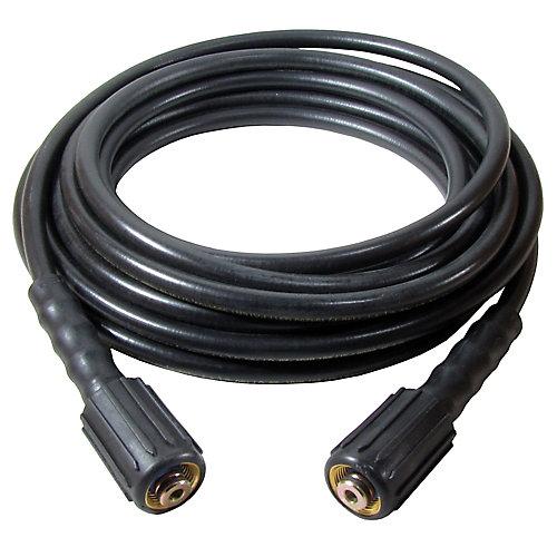 Tuyau haute pression 25 pi X 1/4 po avec raccords M22 Ez Connect