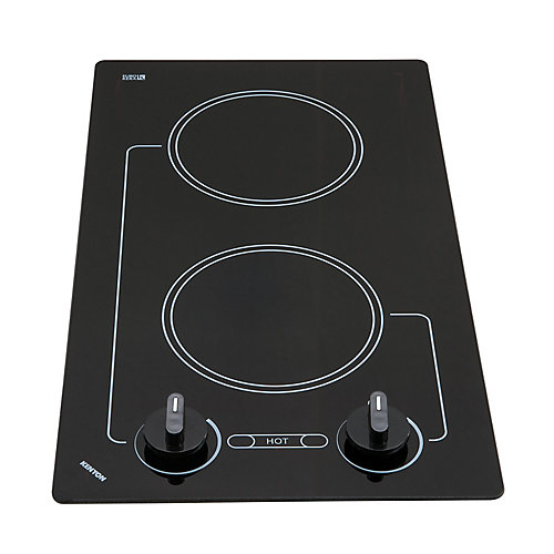 Caribbean series - round Edge - 2 burner white 120V