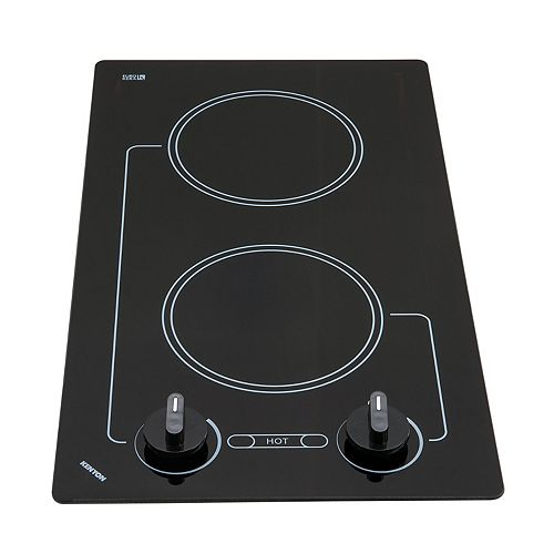 Kenyon Caribbean series - round Edge - 2 burner white 208V