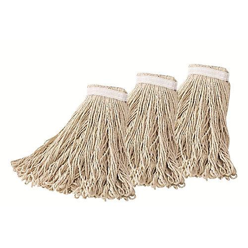 Mop #24 Loop End Cotton (3-Pack)