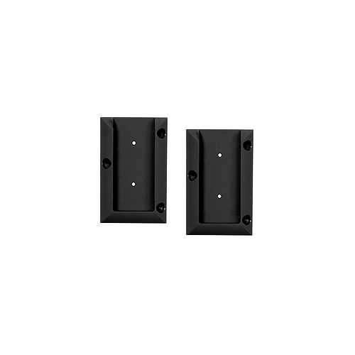 Connector, railing, black (2-Pack)
