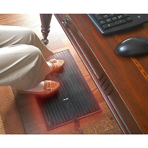 Foot Warmer Heated Mat Personal Space Heater