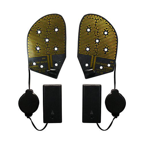 Cozy Feet Heated Shoe Insoles Keep Feet Warm Outdoors Ice Fishing Skiing Hunting