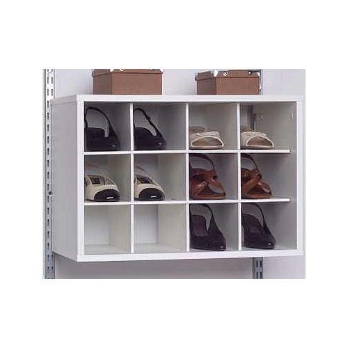 12 Cube Organizer - White