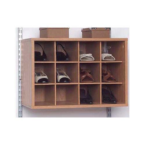 12 Cube Organizer - Oak