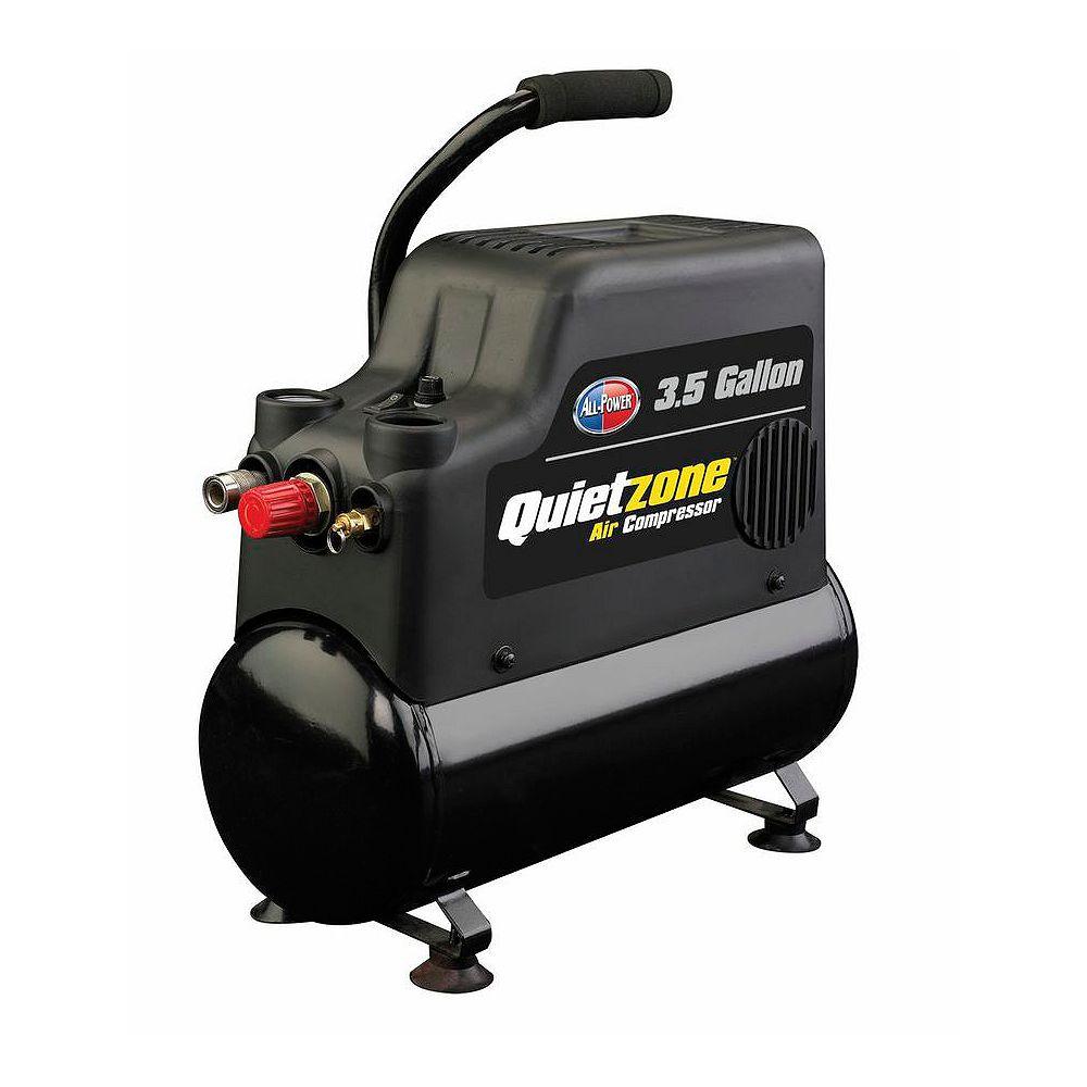 All Power America 3.5 Gallon Oiless Quiet Air Compressor