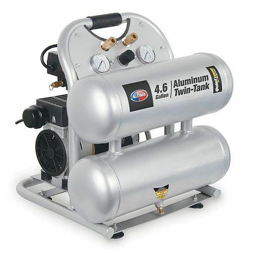 4.6 Gallon Oiless Quiet Air Compressor