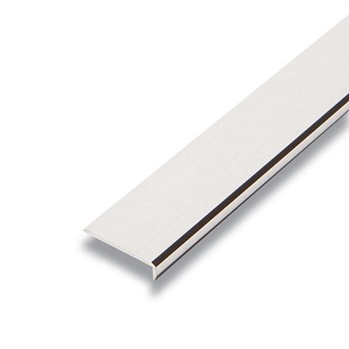 Metal Plain Edging Mira Lustre 1 In. x 1 In. x 8 Ft.