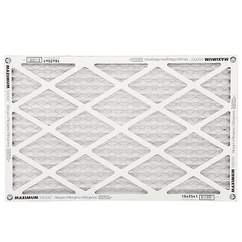High Allergen Microparticle/Odor Reduction Air - 16 Inch x 25 Inch x 1 inch