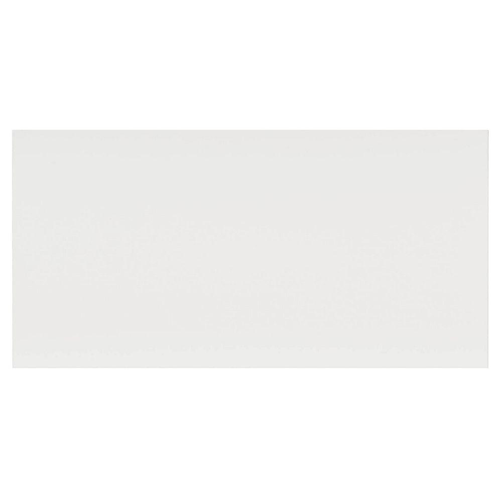 Eurostyle Façade Tiroir Mélamine Alexandrie 15 x 7 1/2 Blanc