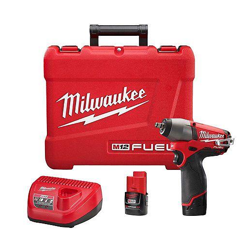 Milwaukee Tool Ensemble de clé à chocs 3/8 po M12 FUEL