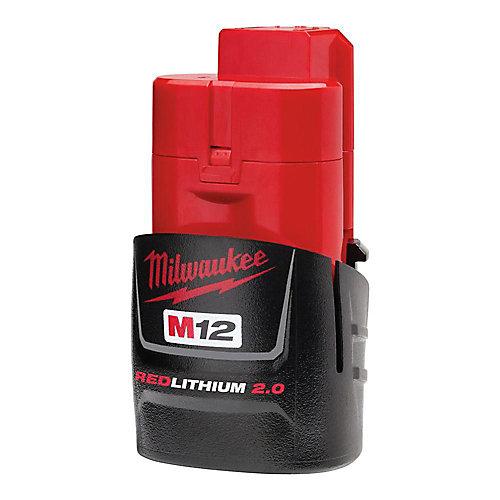 Batterie compacte M12 12V Lithium-Ion 2.0Ah