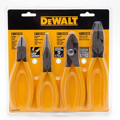 Dewalt 4 Pack of Pliers