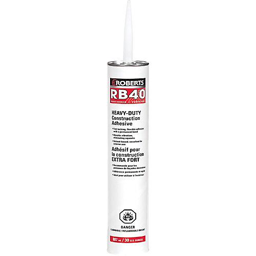 825 mL RB40 Heavy-Duty Construction Adhesive