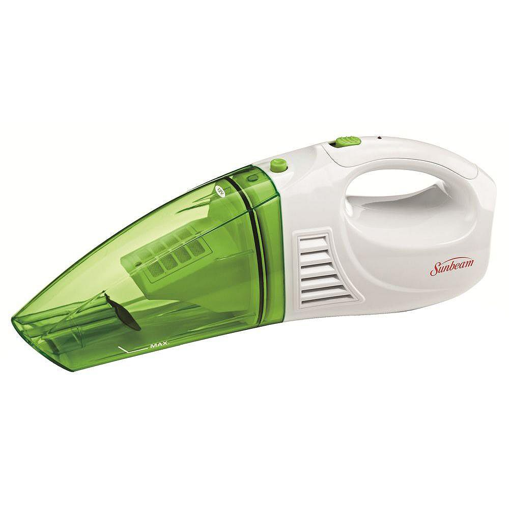 Sunbeam 12V Rechargeable Handheld Wet/Dry Vacuum Lime