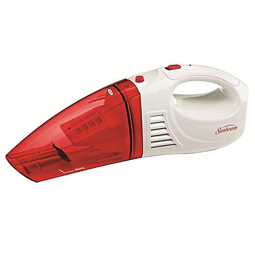12V Rechargeable Handheld Wet/Dry Vacuum Raspberry
