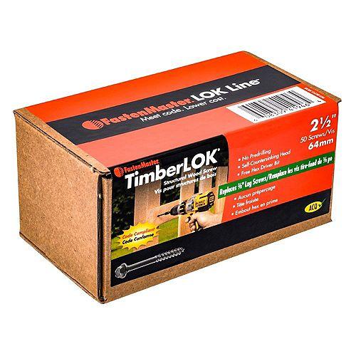2-1/2 Inch. Timberlok 50-Piece