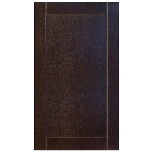 Wood Door Barcelona 17 3/4 x 30 1/8 Choco