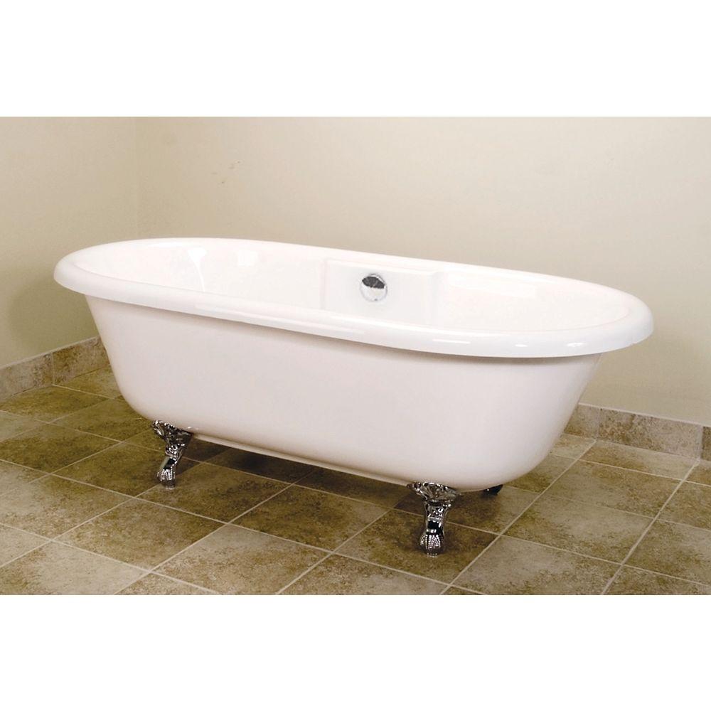 Malta Bath Elena 5 Feet 6-Inch Classical Bathtub