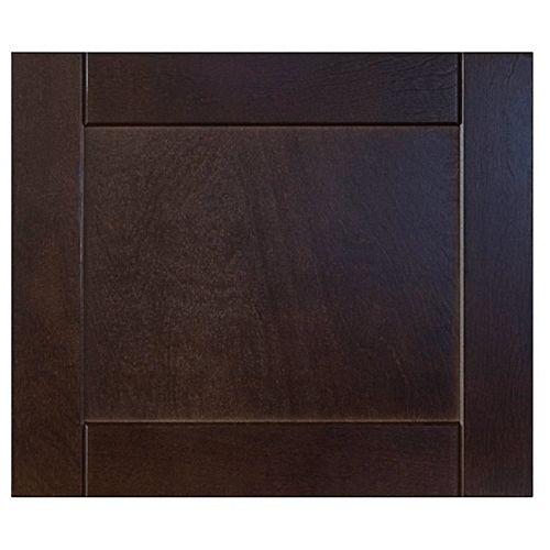 Wood Drawer front Barcelona 17 3/4 x 15 Choco